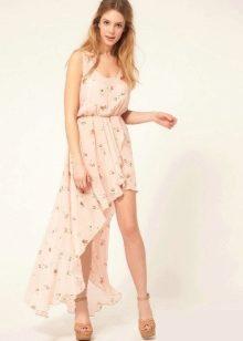 Платья шифоновые легкие фото