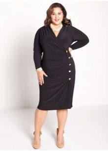 29450653ebc0 Платья для полных женщин (106 фото) 2019: больших размеров, модные ...