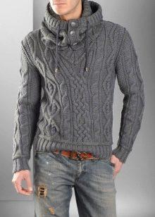 35d8dfbdaac25 Мужской свитер (114 фото) 2019: с оленями, большого размера мужские ...