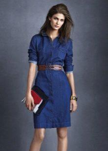 1acda222477 Трикотажные платья хорошо подходят для офиса в холодное время года. Но все  же существуют свои исключения  так