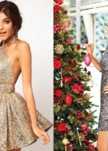 00c88b40684 Платье на Новый год 2020 (109 фото)  вязаное