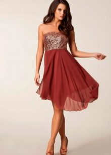 f970010743429d8 Короткое. Невероятный шик и красота соединились в вечерних платьях короткой  длины ...