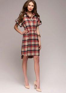 70f0a71e98a Платье-рубашка – это универсальный фасон