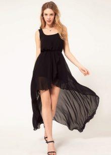 платье перед короткий низ длинный фото