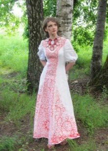 Женские платья в русском народном стиле