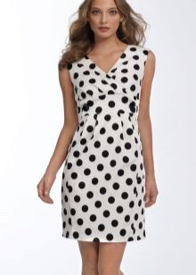 d9c9036b2a6bab Платье в горошек (99 фото): белое, красное, коричневное, голубое