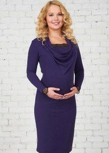 платья фото трикотажные для беременных