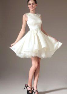 Платья белые на выпускной фото