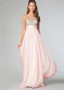 Красивые длинное платье на выпускной