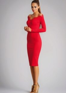 cde498212a6 Платья такого цвета и фасона могут выбрать лишь воистину смелые особы