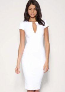 dd805ac0c08 Белое платье 2019 (128 фото)  туфли