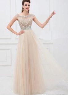 65c075dda09 Платье-комбинация. Бежевое платье из ...