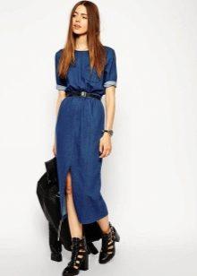 915d8c96d0b Поэтому любое джинсовое платье будет отличать строгий четкий силуэт
