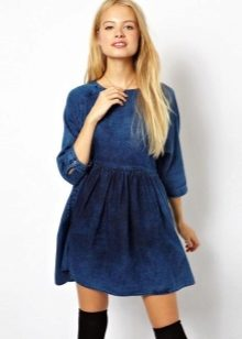 9a9d157e646 Джинсовые платья 2019 (184 фото)  модные новинки