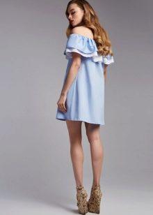 Красивые платья с воланами фото