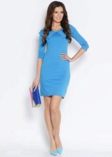 Голубое платье какая должна быть сумка