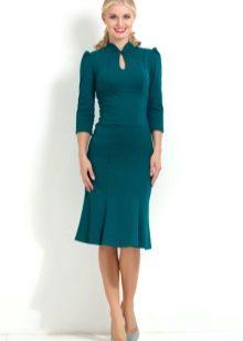 Красивые фасоны платьев ниже колен