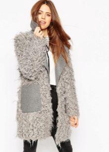 меховое пальто фото