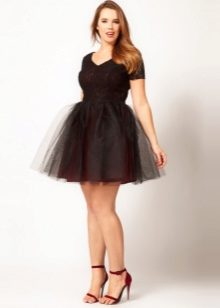 7c7843e6a85 Короткое пышное платье отлично подойдет для неформальной встречи с  друзьями
