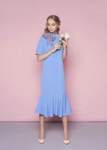 Шьем платье с воланом по низу своими руками: мастер-класс из блога 7