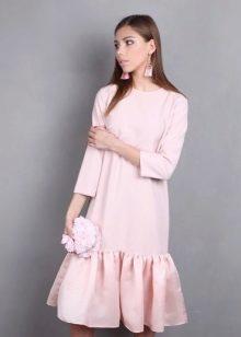33b22cd7916 Платье внизу с воланом (80 фото) 2019  с чем носить