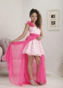 Платье для девочки 14 лет длинное