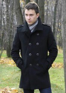 2ec7eacf5d0 Пальто мужское зимнее (80 фото)  длинное