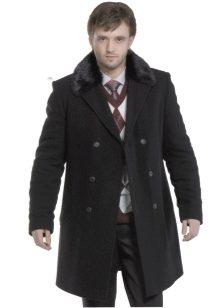 фото мужское пальто зимнее