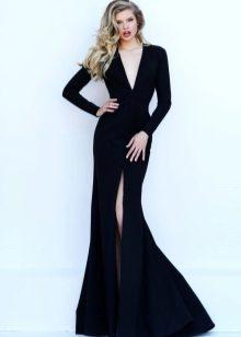 Элегантное платье черное фото
