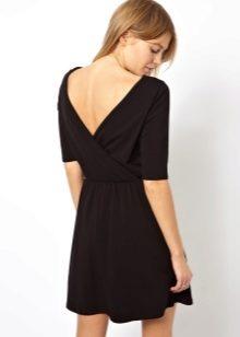 b5f8bf1f158 Платье с запахом 2019 (86 фото)  длинное
