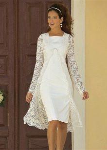 Свадебное платье женщине за 35 лет