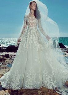 6062062d54c Платье для венчания в церкви (148 фото)  подвенечное