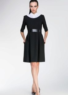 edcd9896236 Для холодного времени хороши платья с использованием шерсти и других теплых  материалов. Они придают образу особый шарм и уютность.