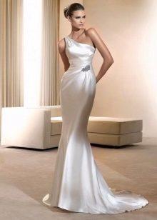c917da25872 Платье со шлейфом 2019 (104 фото)  короткое спереди