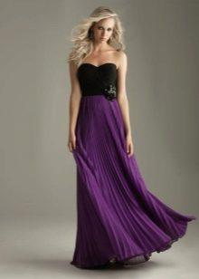 Фото фиалкового платья