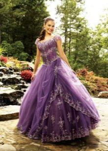 Королёв сиреневое платье