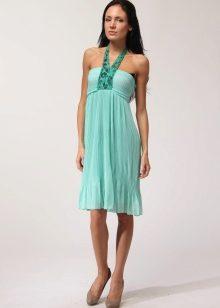 Фасоны на мятное платье