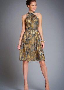 Платья шелковое 2017 фото