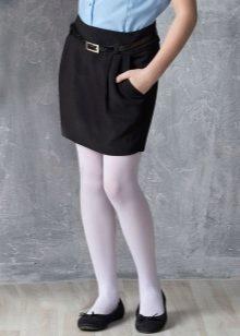 eab6c9ead81 Школьная юбка для девочки 2019 (85 фото)  для подростков