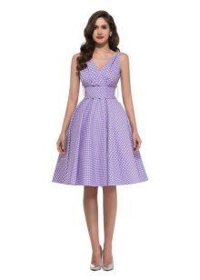 Лиловый цвет платья купить