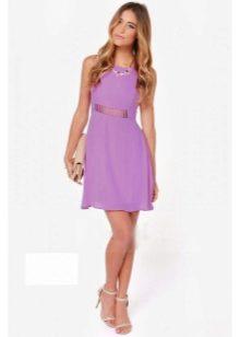 Платья лавандового цвета