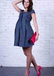 c5edaa3f9c48435 Туника для беременных (82 фото): осень-зима, вязаные, платье-туника ...