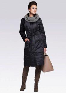 d7ef48dd842 Женское пальто на синтепоне (75 фото)  из плащевки