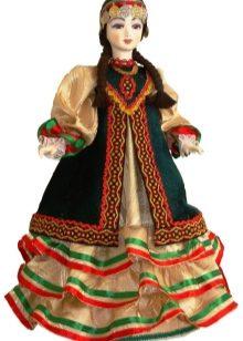национальный костюм башкиры картинки для детей