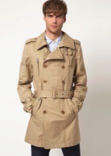 465e5d27057d Тренч мужской (80 фото)  тренчкот, кожаный, Zara, Burberry, зимний ...