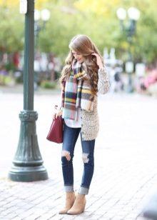 Как завязать палантин как шарф (51 фото): как можно красиво завязать шарф-палантин и способы завязывания
