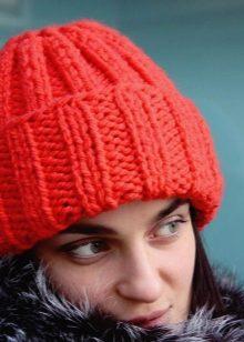9d980834cf5f Шапка с отворотом и подворотом (74 фото): шапка зефирка и с двумя ...