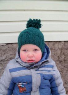 Шапки для мальчиков (80 фото)  детские зимние шапки для мальчиков от ... fa6f1c2295940