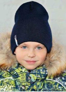 модные шапки фото для мальчиков