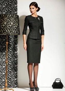 Костюмы юбка и кофта 2017
